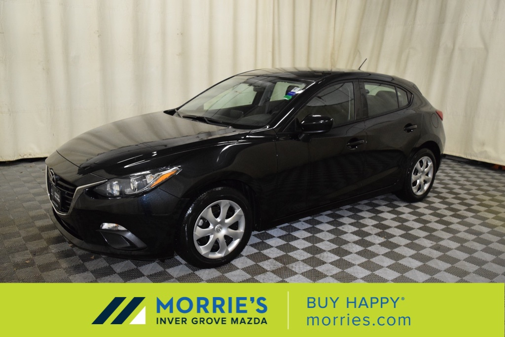 Morries Used Cars >> Certified Pre Owned 2016 Mazda3 I Sport Fwd 4d Hatchback